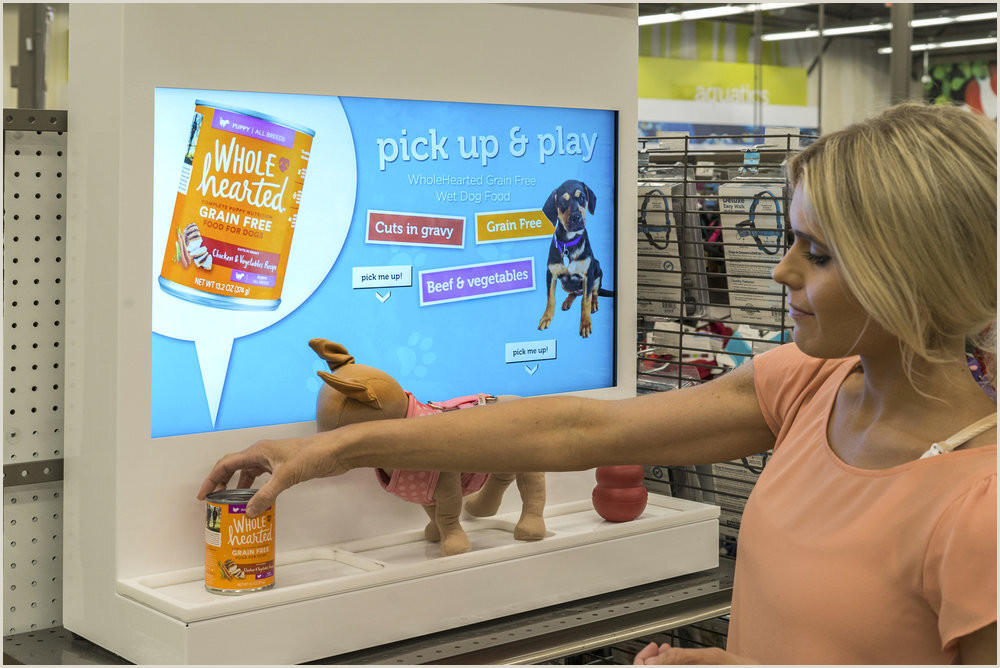 Floor Standing Banners Perch Retail Marketing Lift And Learn Digital Signage