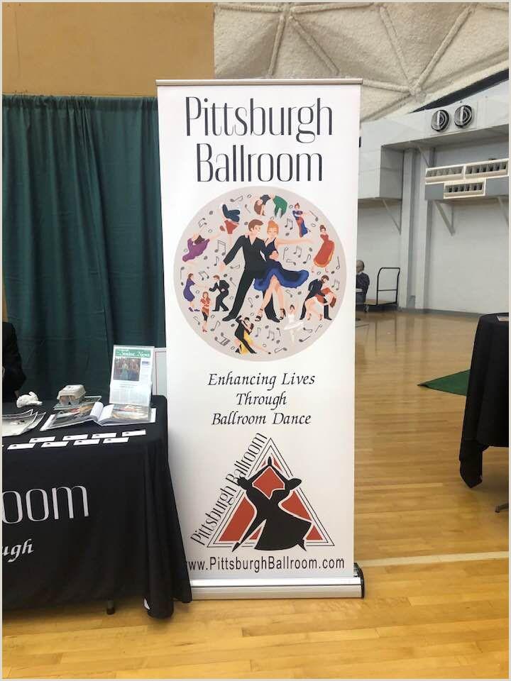 Floor Standing Banners Pittsburgh Ballroom Trade Show Banner