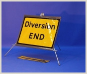 Fold Out Signs Fold Up Temporary Road Signs