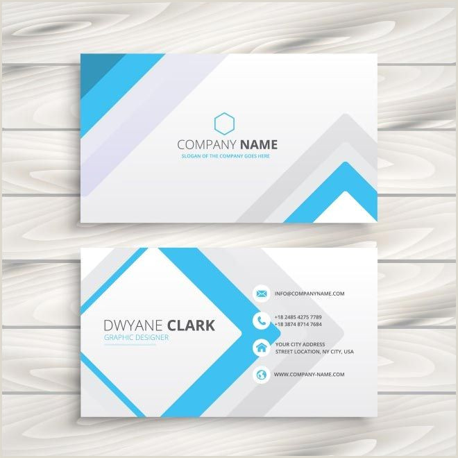 Format Business Card Free Vector Creative Design Business Cards Template