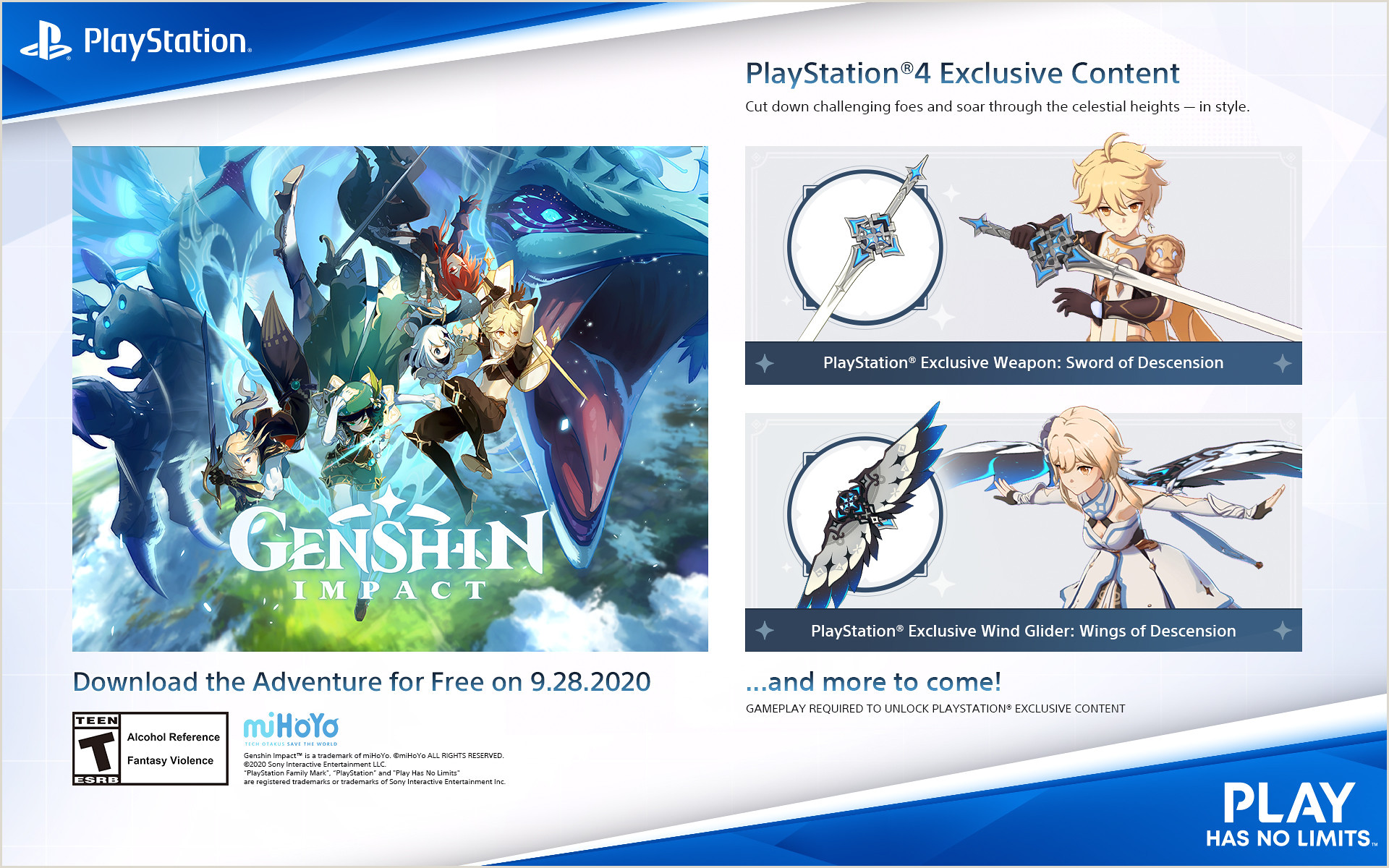 Free Playing Card Design Software Genshin Impact Hits Ps4 September 28 Bonuses For Pre Orders