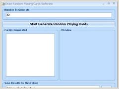 Free Playing Card Design Software Random Playing Card Generator Software Free Download