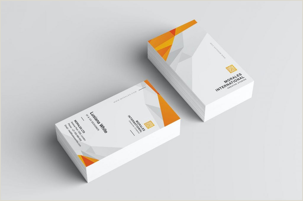 Front And Back Business Card Best Business Card Design 2020 – Think Digital