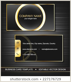 Front And Back Business Card Front Back Business Card Stock S & Vectors
