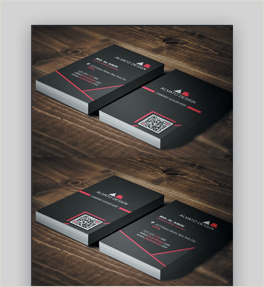 Front And Back Business Card Template 20 Double Sided Vertical Business Card Templates Word Or