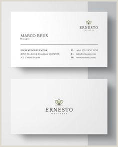 Front And Back Business Card Template 200 Best Business Cards Images