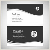 Front And Back Business Card Template Vector Business Card Template Front And Back Download Free