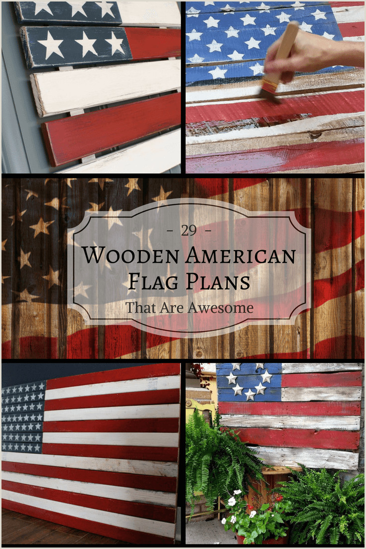 Full Size Flag Stands 29 Awesome Diy Wooden American Flag Plans