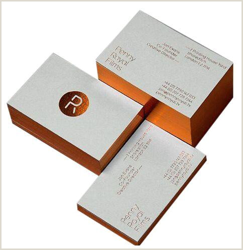 Gold Foil Edge Business Cards 2020 Edge Color Gold Foil Printing Paper Business Card From Hellen8599 $140 71