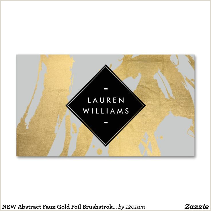 Gold Foil Edge Business Cards Business Card Logos