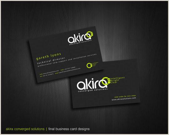 Good Business Card 55 Beautiful Business Card Designs