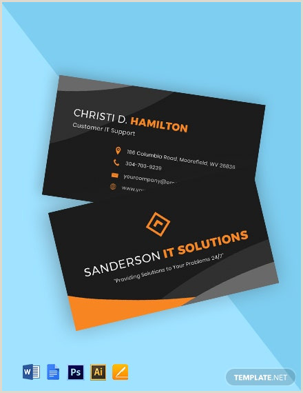 Google Search Business Card Template Free It Software Business Card Templates Google Docs