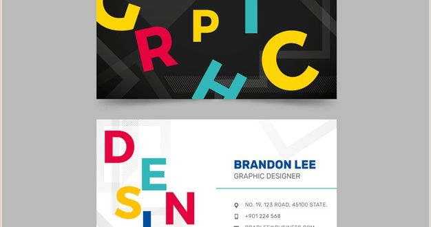 Graphic Artist Business Card Graphic Designer Business Card