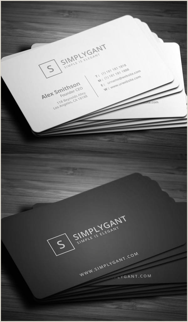 Great Business Cards 80 Best Of 2017 Business Card Designs Design