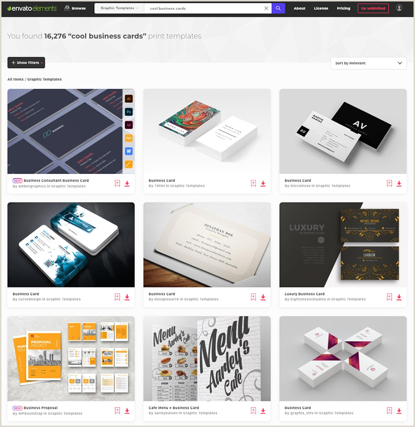 Great Looking Business Cards 25 Cool Business Card Designs Creative Inspiration Ideas