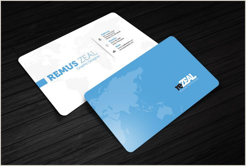 Great Looking Business Cards Business Card Template Rezeal