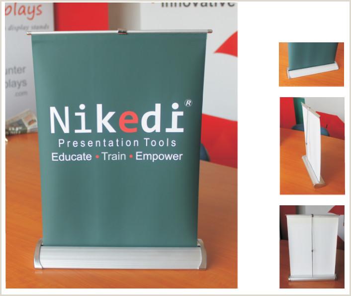 H Banner Stand Hunter Profile – Displays Brochure Holders Literature