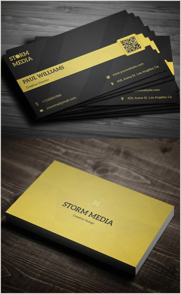 He Had The Best Business Cards 51 New Professional Business Card Psd Templates