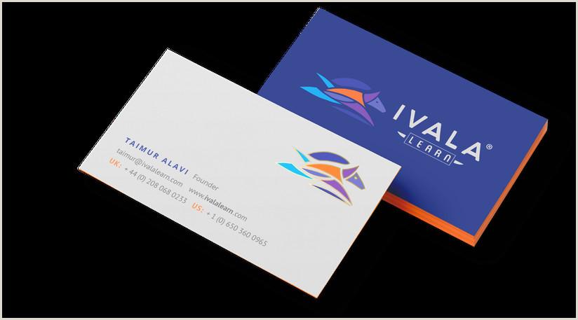 High End Best Business Cards Online 99designs Business Card