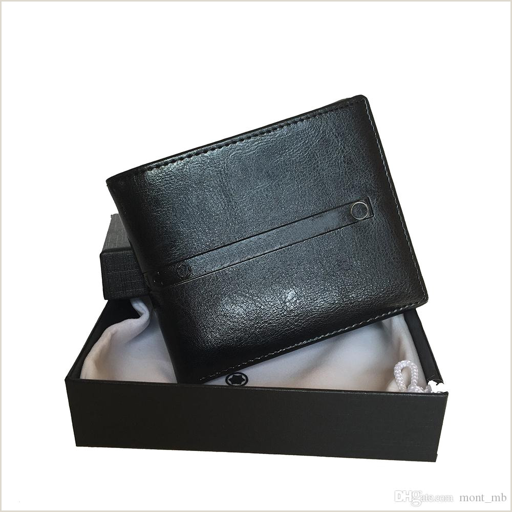 High End Business Card Designs Luxury Designer Wallet Black Leather Short Clip Business Mens Credit Card Holder Card Set High Quality Ultra Thin Coin Hot Sale With Box Cell Phone