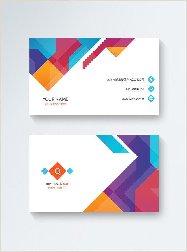 High End Business Card Designs Simple And High End Business Card Design Template