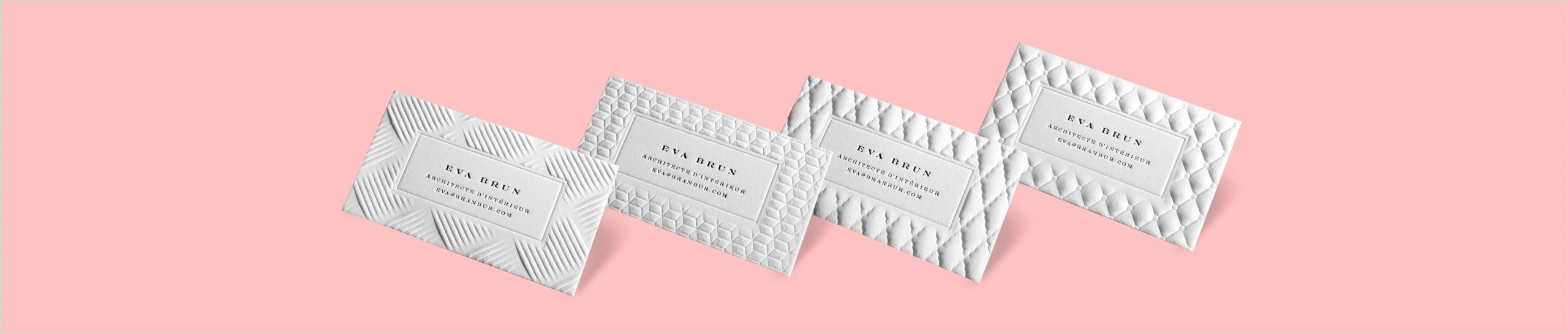 High End Business Card Printing 3d Embossed Business Cards