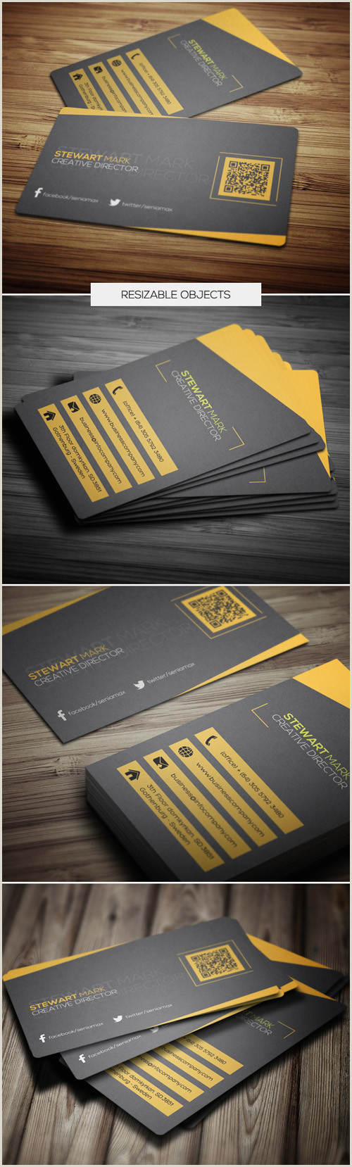 High Quality Unique Paper Business Cards 29 High Quality Creative & Unique Business Cards