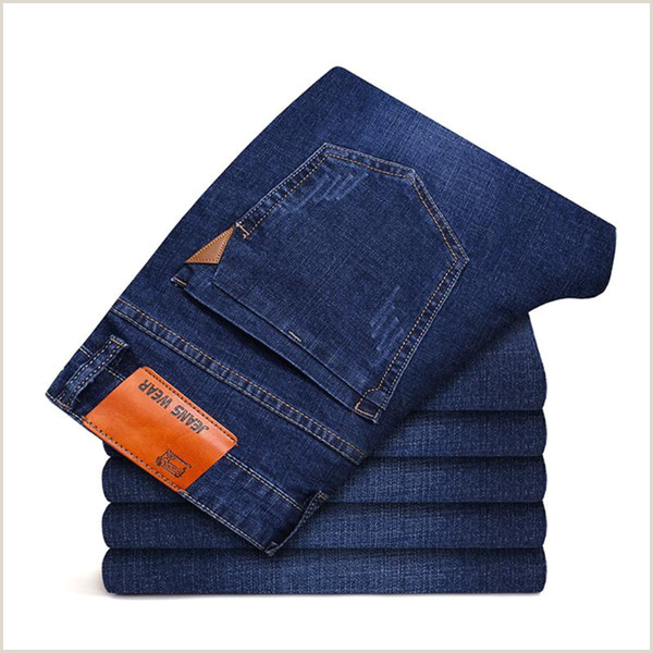 Hipster Business Cards Unique Size Fitness 2020 High Street Jeans Men Business Casual Pant Plus Size Fitness Jeans Elastic Hip Hop Pants Elegant Streetwear 2020 Cool From Xiatian5 $19 22
