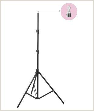 Horizontal Banner Holder Digitek Light Stand TriPod 7 Feet For Graphy & Video