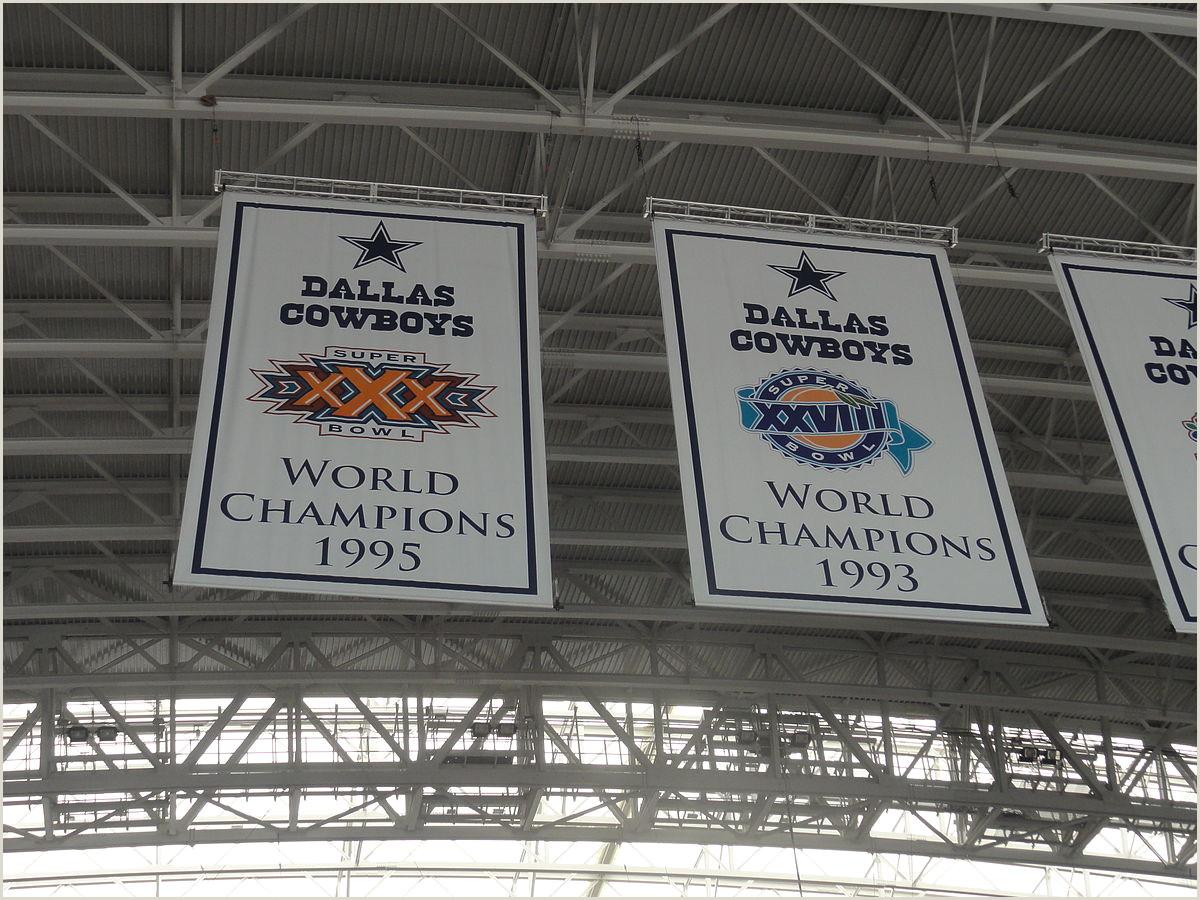 Horizontal Banner Holder File Dallas Cowboys Stadium Championship Banners Jpg