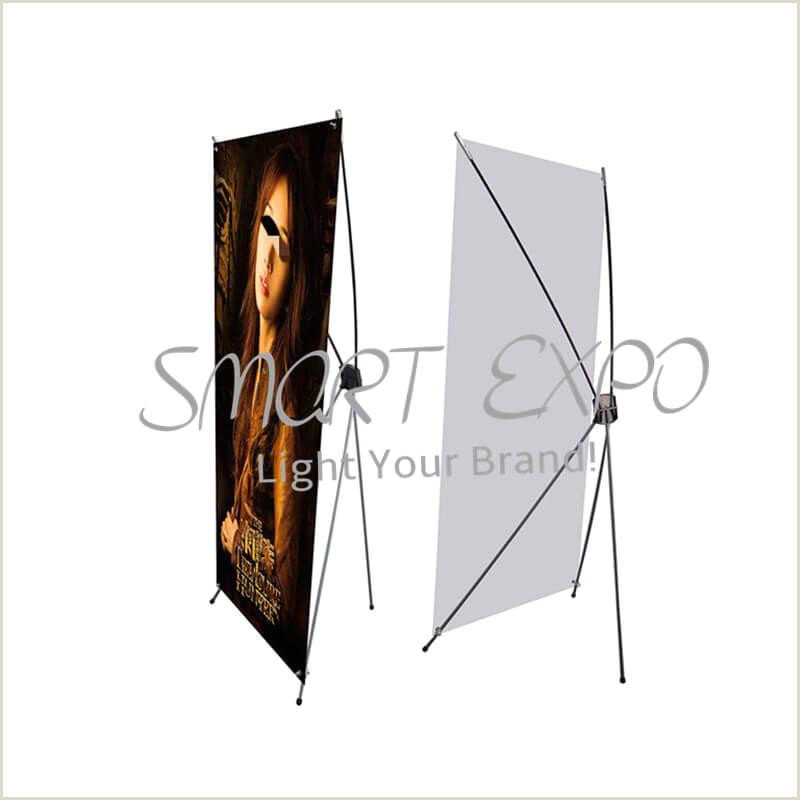 Horizontal Banner Stand 2020 Premium Fiberglass X Banner Stand Lightweight Advertising X Display Trade Show X Frame Equipment With Portable Carry Bag Pvc Printing From