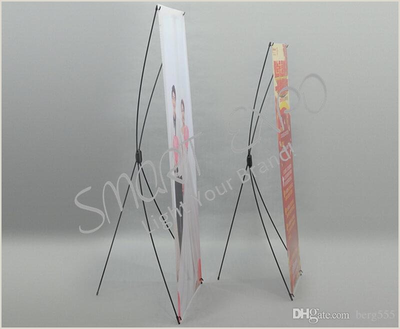 Horizontal Banner Stands For Trade Shows 2020 Premium Fiberglass X Banner Stand Lightweight Advertising X Display Trade Show X Frame Equipment With Portable Carry Bag Pvc Printing From