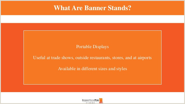 Horizontal Banner Stands For Trade Shows 5 Types Trade Show Banner Stands Perfect For Every Occasion