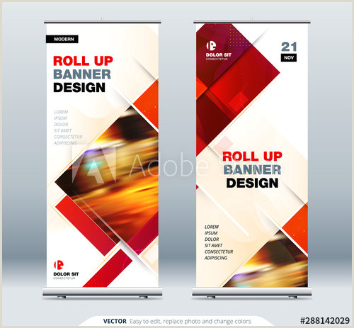 Horizontal Banner Stands For Trade Shows Business Roll Up Banner Stand Abstract Roll Up Background