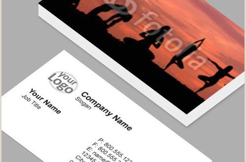 Horizontal Vs Vertical Business Cards Business Cards Standard Horizontal Customizable Design