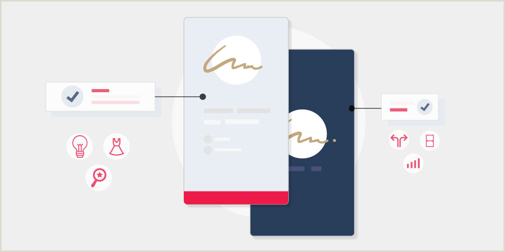Horizontal Vs Vertical Business Cards Vertical Business Cards 20 Inspirational Designs