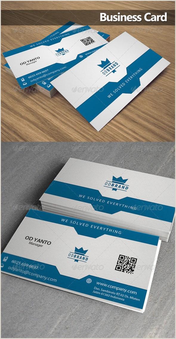 How Big Are Buisness Cards Business Card Od 3