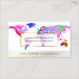 How Big Are Buisness Cards Global Business Cards Business Card Printing