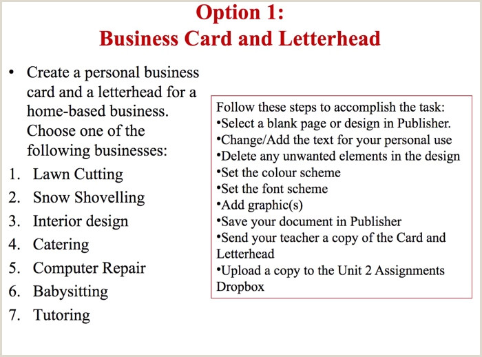 How To Create A Business Card Sample Business Card And Letterhead Greenfood Gree