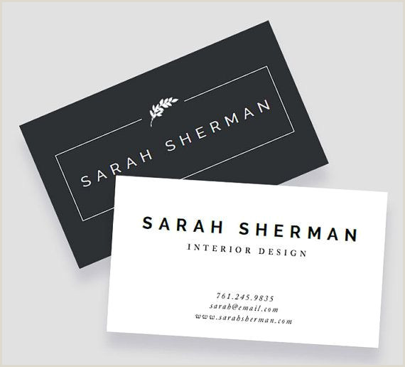 How To Design Business Cards In Word Business Card Template For Word And Pages