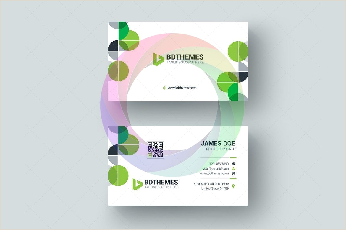 How To Format A Business Card Health Business Card Design Graphic Templates In 2020