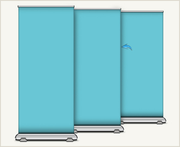 How To Make A Horizontal Banner Stand Design A Roll Up Banner Stand In Shop Sitepoint