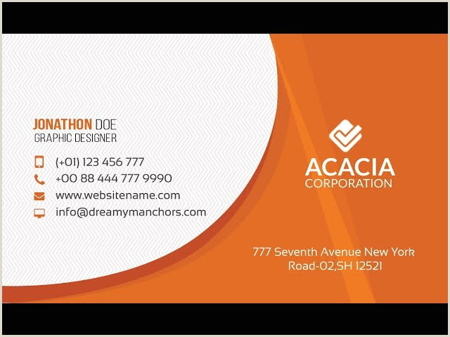 How To Make A Professional Business Card Creating A Professional Business Card Design Without Any
