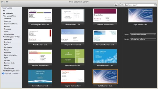How To Make All Business Cards The Same In Word How To Make A Business Card With Microsoft Word Line