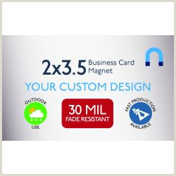 How To Make Buisness Cards Custom Business Card Magnets