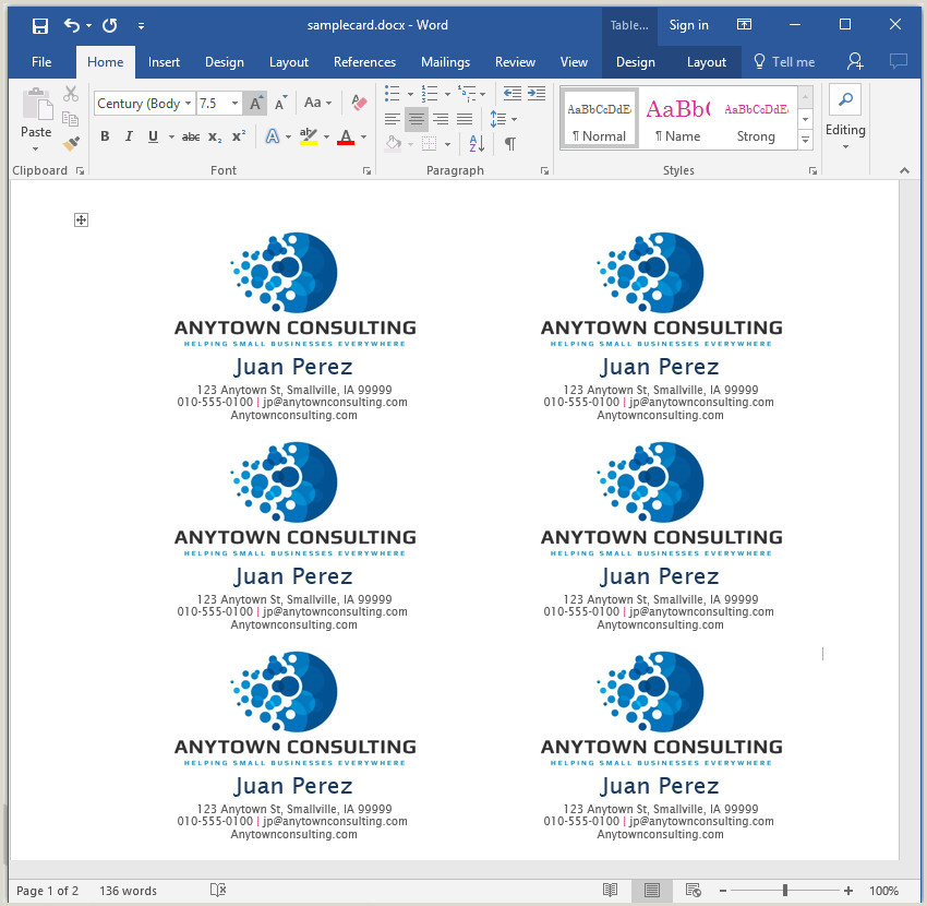 How To Make Business Card In Word How To Make Your Own Business Cards In Word