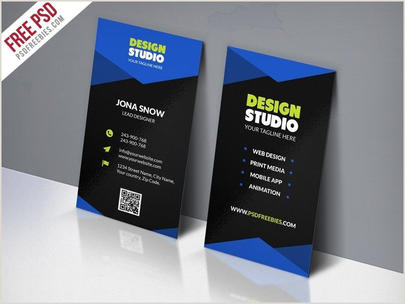 How To Make Bussiness Cards Free Download Business Card Template Psd Business Card