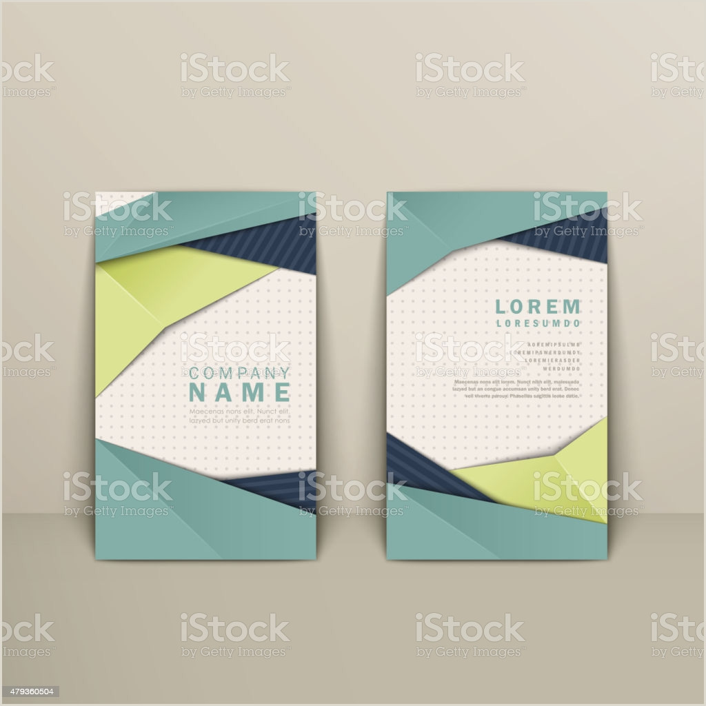 How To Make Bussiness Cards Trendy Business Card Design Stock Illustration Download Image Now