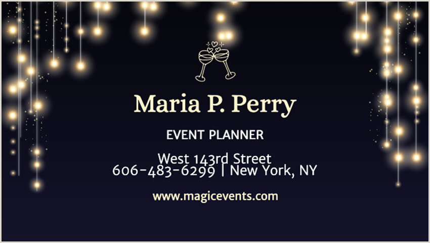 How To Make Professional Business Cards At Home How To Design Your Business Card Quickly With A Pro Line
