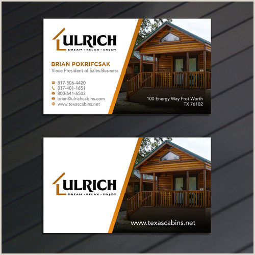How To Make Professional Business Cards At Home Ulrich Cabins B2b Business Cards